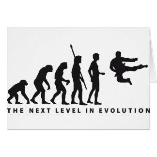 evolution martially kind card