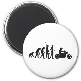 evolution more biker 6 cm round magnet