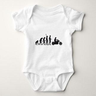 evolution more biker baby bodysuit
