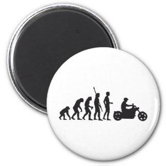 evolution more biker magnet