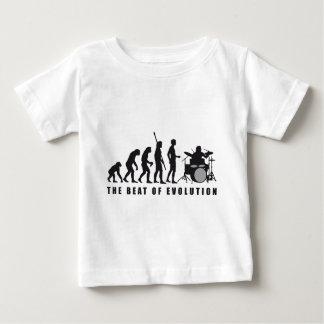 evolution more drummer baby T-Shirt