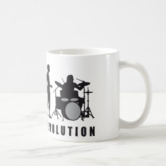 evolution more drummer coffee mug