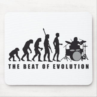 evolution more drummer mouse mat