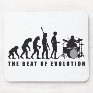 evolution more drummer mouse mat