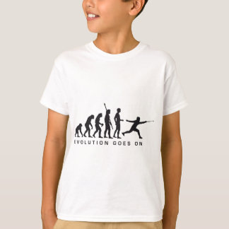 evolution more fencer T-Shirt