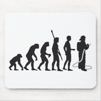 evolution more firefighter mouse mat