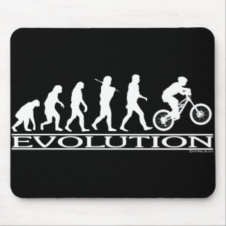 Evolution - Mt Biking Mouse Mat