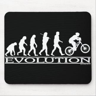 Evolution - Mt Biking Mouse Mat
