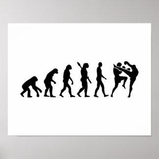 Evolution Muay Thai Poster