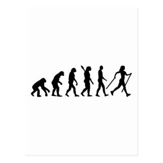 Evolution Nordic Walking Postcard