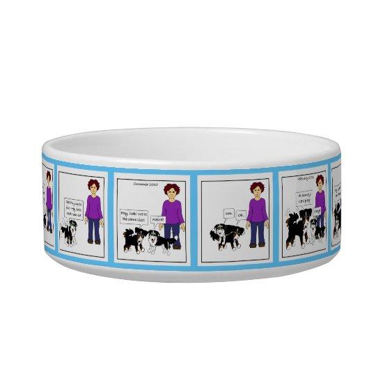 Evolution of a Canine Friendship-pet bowl (colour)