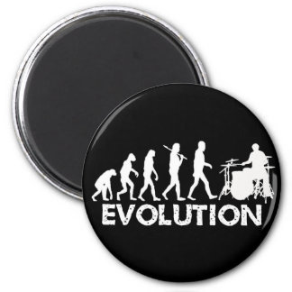 Evolution of a Drummer 6 Cm Round Magnet
