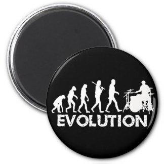 Evolution of a Drummer Fridge Magnets