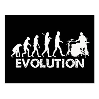 Evolution of a Drummer Postcard