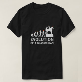 Evolution of a Glaswegian Tshirt (Glasgow)