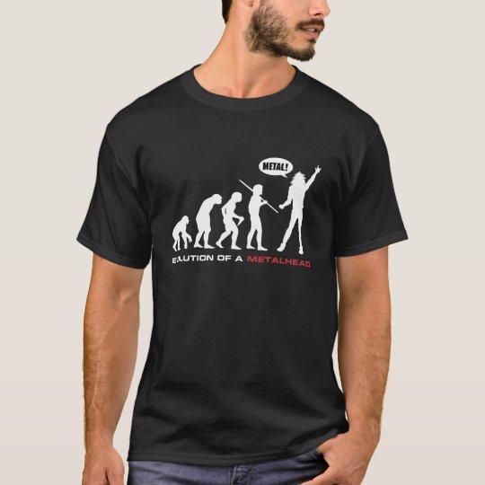 Evolution Of A Metal Head T-Shirt