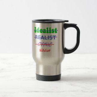 Evolution Of A Nihilist Stainless Steel Travel Mug