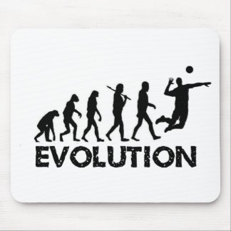 Evolution of a Volleyball Player Mouse Mat
