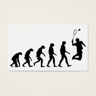 Evolution of Badminton Business Card