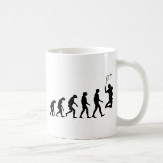 Evolution of Badminton Coffee Mug
