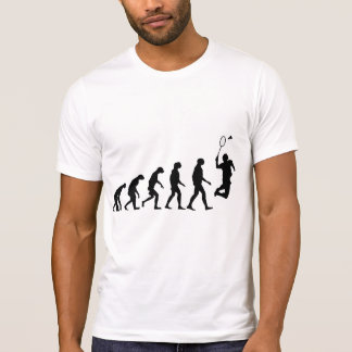 Evolution of Badminton T-Shirt