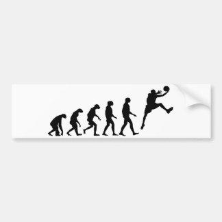 Evolution of Basketball Bumper Sticker