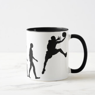 Evolution of Basketball Mug