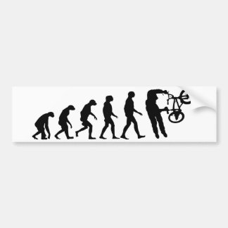 Evolution of BMX Bumper Sticker