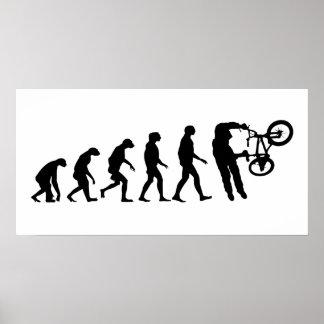 Evolution of BMX Poster