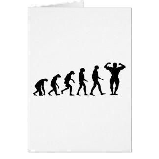 Evolution of Bodybuilding Cards