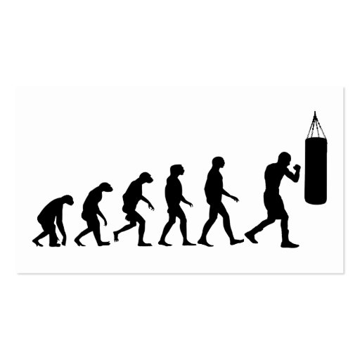 Evolution of Boxing Business Cards