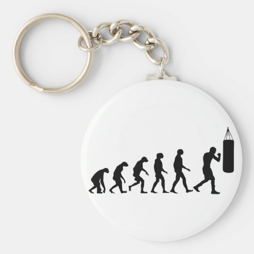 Evolution of Boxing Key Chain