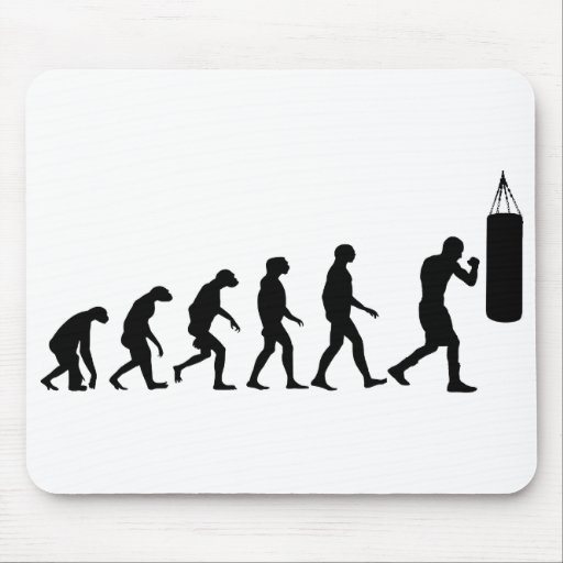 Evolution of Boxing Mouse Pad