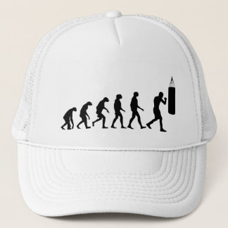 Evolution of Boxing Trucker Hat