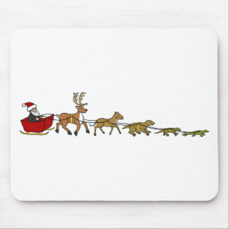 Evolution of Christmas Mouse Mat