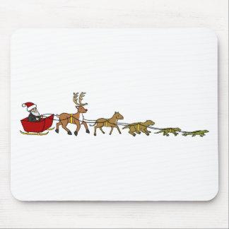 Evolution of Christmas Mouse Pad