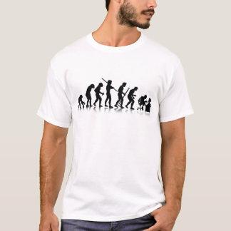 Evolution of Computer Addicts T-Shirt
