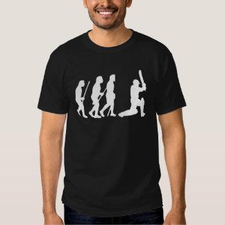 evolution of cricket t shirts