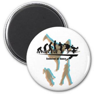 Evolution of Dance 6 Cm Round Magnet