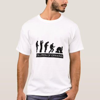 Evolution of Drinking T-Shirt