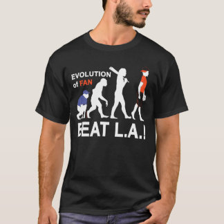Evolution of Fan, Beat L.A.! T-Shirt