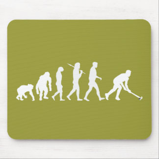Evolution of Field hockey - Hockey gifts Mouse Mat