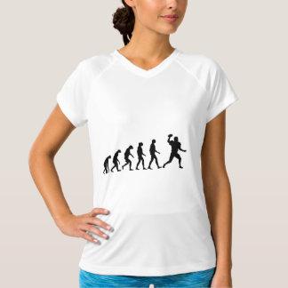 Evolution of Football Tshirt