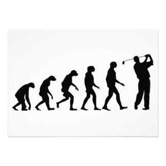 Evolution of Golf Invitations