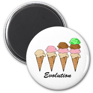 Evolution of Ice Cream Magnet
