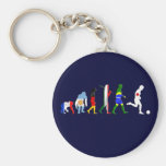 Evolution of Japanese football soccer player gifts Key Chain
