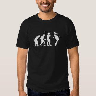 evolution of jazz t-shirt on dark