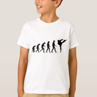 Evolution of Karate T-Shirt