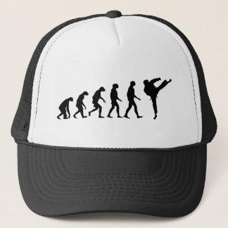 Evolution of Karate Trucker Hat