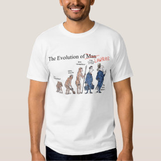 Evolution of Lawyers Men's T Shirt